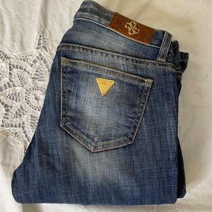 Guess Premium Foxy Flare-Flare Leg low rise jeans